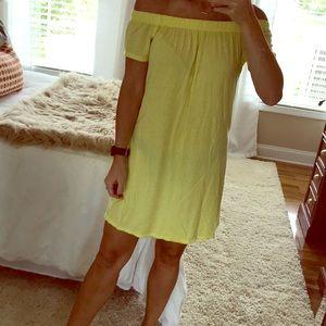 Yellow Victorias Secret cover up